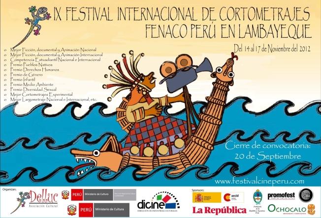 Afiche FENACO convocatoria 2012
